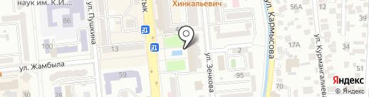 D & D на карте Алматы