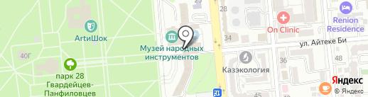 Центр Раскроя Стали, ТОО на карте Алматы