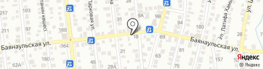 Оксана на карте Алматы