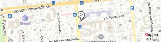 Гулдер-Ай на карте Алматы