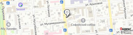 Baspakhana.kz на карте Алматы