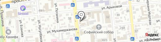 OptimusDent на карте Алматы