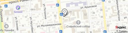 Rosalia Flowers на карте Алматы