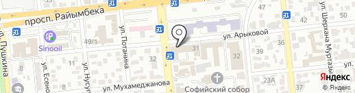 GULMARKET на карте Алматы