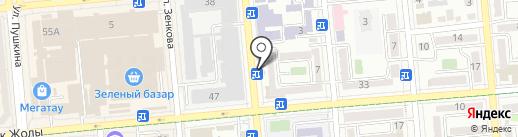 У Эльвиры на карте Алматы