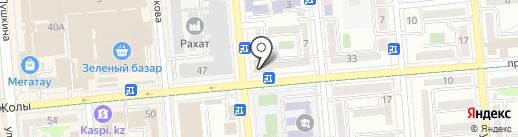 Супермаркет на карте Алматы