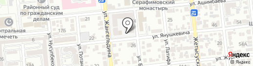 Квартал на карте Алматы