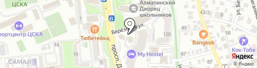 Банкомат, Capital Bank Kazakhstan на карте Алматы