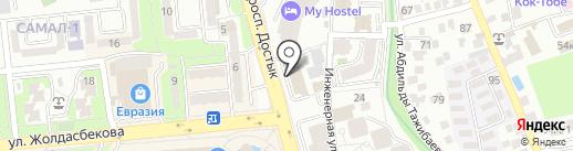Oriflame на карте Алматы