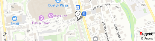 КАЗПОЧТА на карте Алматы