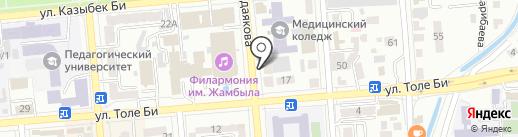 Sultan на карте Алматы