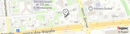 Ademau на карте Алматы