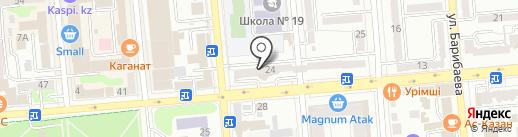 ART LANE на карте Алматы