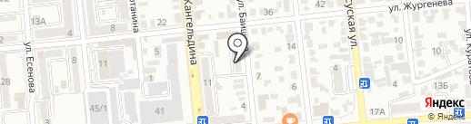 Патриот на карте Алматы