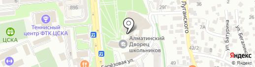 СДЮШОР №1 на карте Алматы