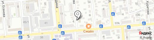 DINAL TRAVEL на карте Алматы