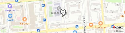 HDTEC на карте Алматы