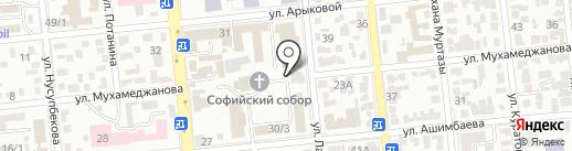 Иверско-Серафимовский женский монастырь г. Алматы на карте Алматы