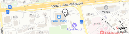 Бутик женских платьев на карте Алматы