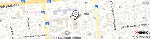 IBRAKOM на карте Алматы