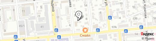 Амарата, ТОО на карте Алматы