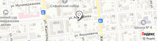 РЕМА, ТОО на карте Алматы
