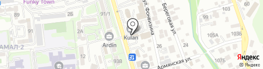 TRANCO на карте Алматы
