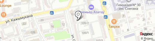 Алатау, продовольственный магазин Сманова Г. на карте Алматы