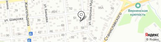 Салон-ателье на карте Алматы