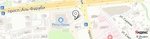 Chiken hut на карте Алматы