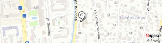 Шиномонтажная мастерская №1 на карте Алматы