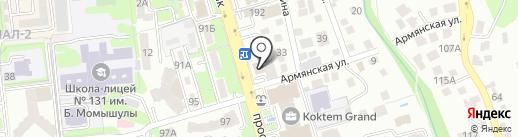 Пикассо на карте Алматы