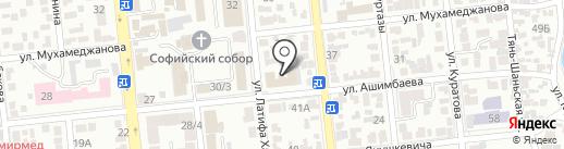 E.V.Brand на карте Алматы