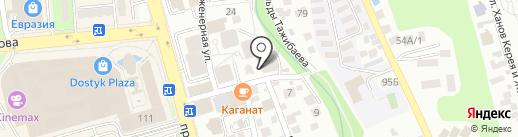 Montfeeld на карте Алматы