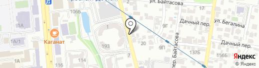 Home Hostel Nucha Almaty на карте Алматы