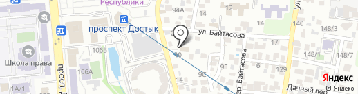 UPS на карте Алматы