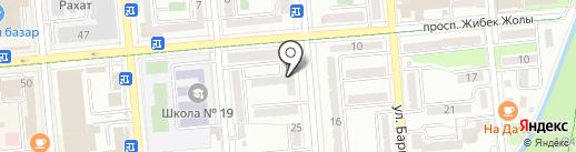 LOOK на карте Алматы