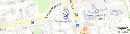 БатысМунайГазЖабдыктары на карте Алматы