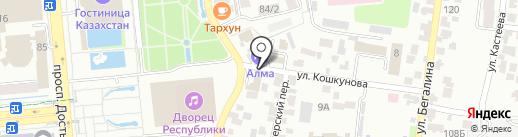 Lifttrucks Jungeinrich на карте Алматы