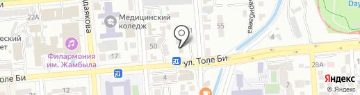 strahoffka.kz на карте Алматы