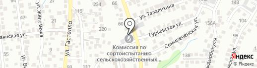 Алматинская областная инспектура по сортоиспытанию сельскохозяйственных культур на карте Алматы