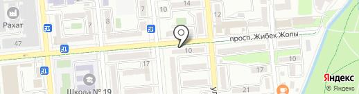 BD-Trans на карте Алматы
