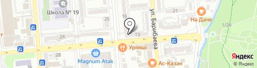 Slang Studio на карте Алматы