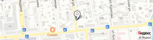 Куралай, магазин продуктов питания на карте Алматы