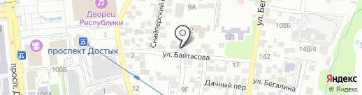 Генеральное консульство Китайской Народной Республики в г. Алматы на карте Алматы