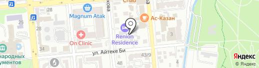 Мотор сервис на карте Алматы