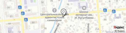 На Кирова на карте Алматы