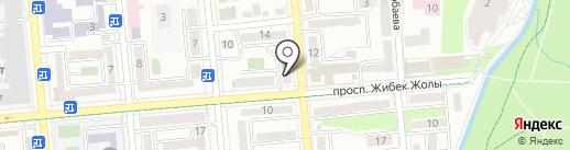 Студия красоты Наталии Колотовой на карте Алматы