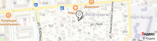 SMART SATU на карте Алматы