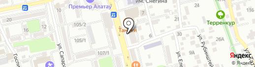 ВСМ-Сервис на карте Алматы